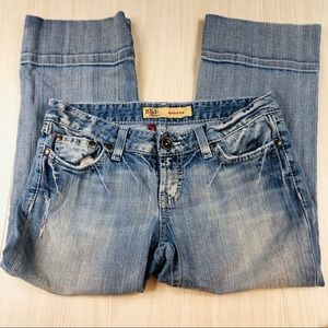 Cropped BKE Madison jeans size 27 stretch